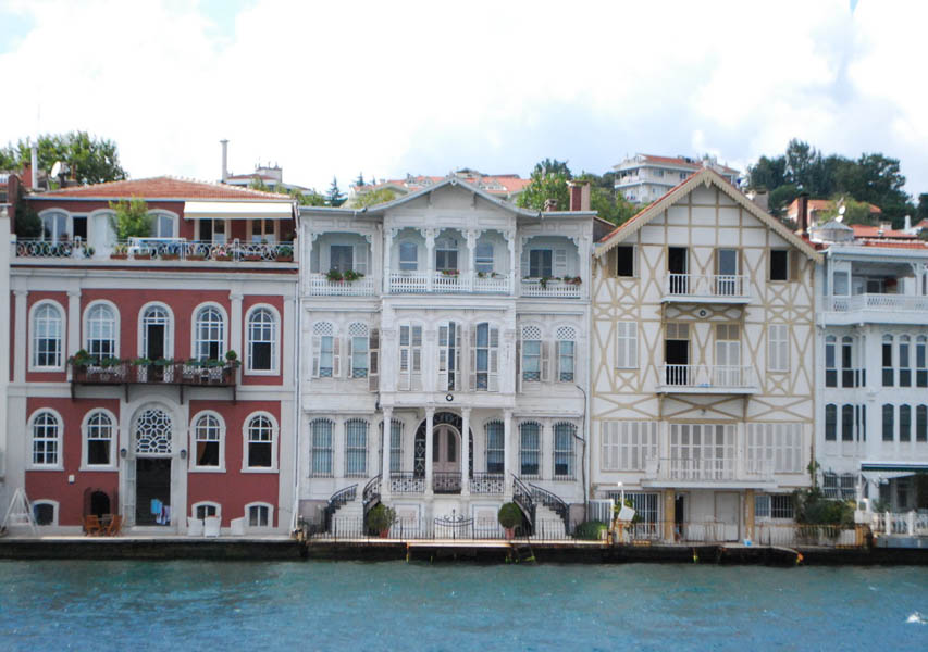 Mansions on the Bosphorus