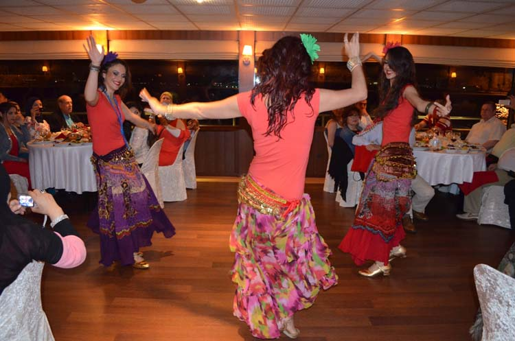 Belly dancer dinner cruise on the Bosphorus